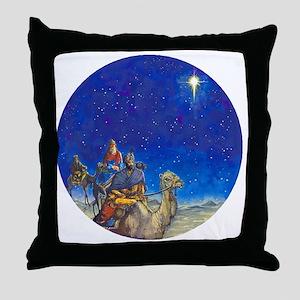 NU Magi Ornament [Circle Aug] - Right Throw Pillow